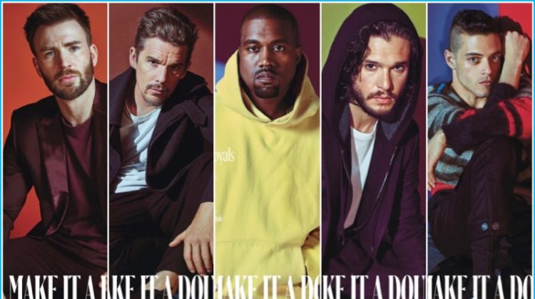 The New Royals: Kanye West, Rami Malek + More Cover W Magazine