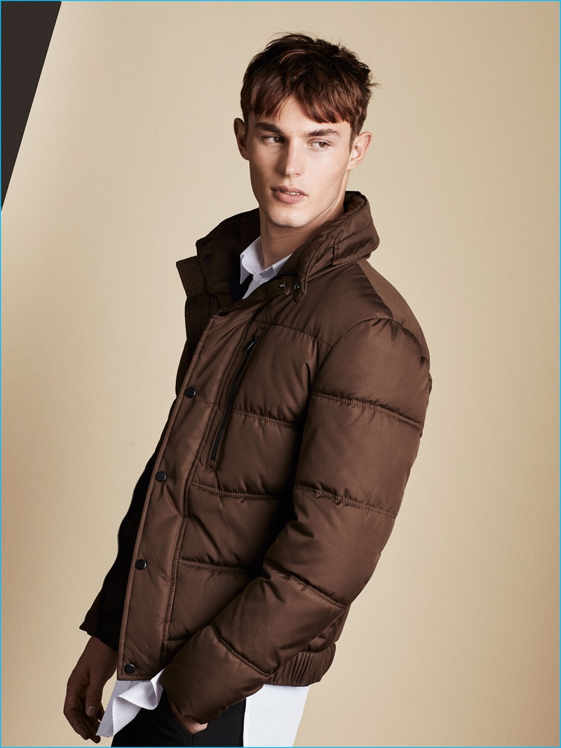 quality design e874b a091d Zara Man takes inspiration from 1991 Berlin with a brown puffa jacket from  its fall-