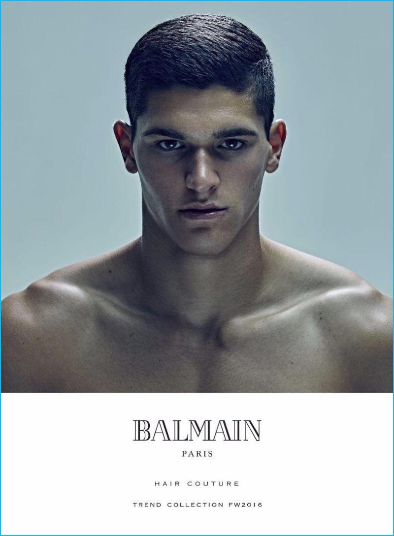 Balmain Men S 2016 Hair Trends Fall Winter Book The Fashionisto