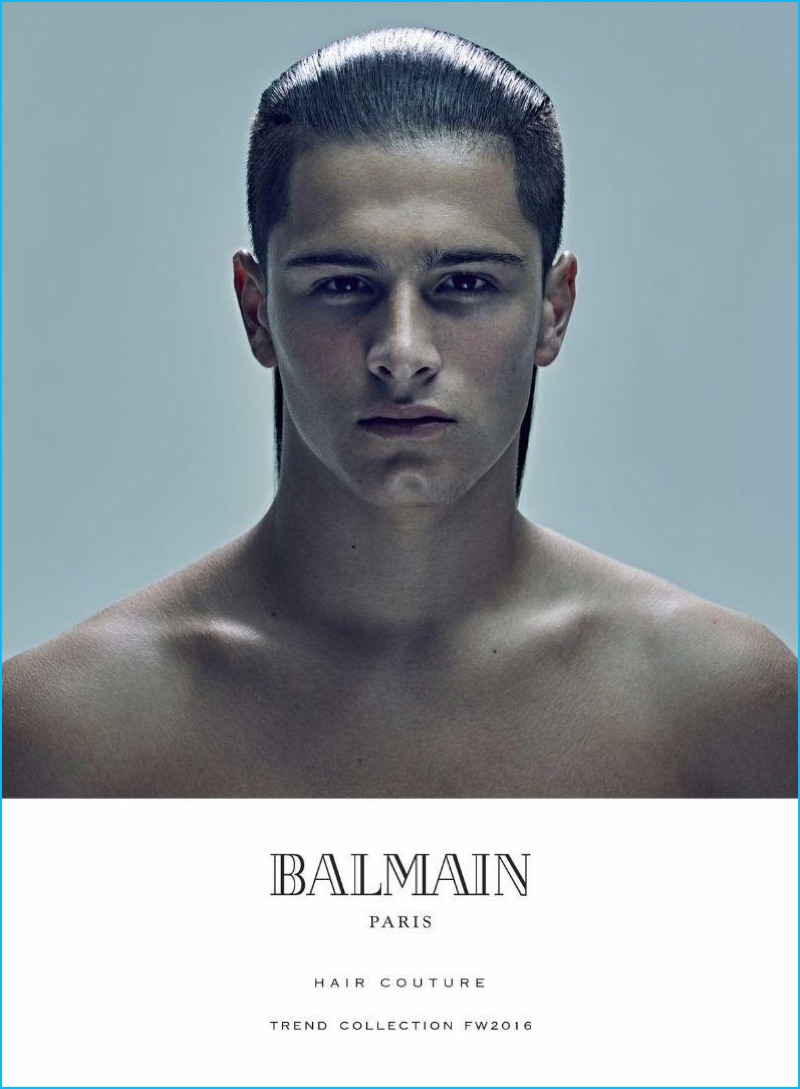 Balmain Men S 2016 Hair Trends Fall Winter Book The
