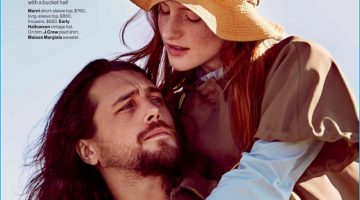 Back to Basics: Ben Robson Stars in Glamour Editorial