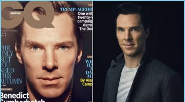 Benedict Cumberbatch Covers British GQ, Talks 'Sherlock'