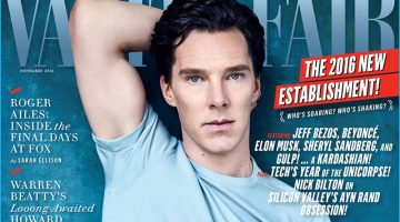 Benedict Cumberbatch Covers Vanity Fair, Dishes on Fans