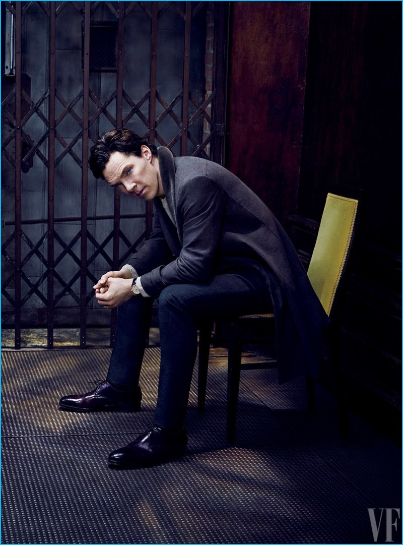 Benedict Cumberbatch photographed by Jason Bell for Vanity Fair.