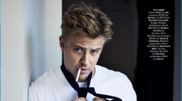 Boyd Holbrook Graces the Pages of Esquire in Casual Styles