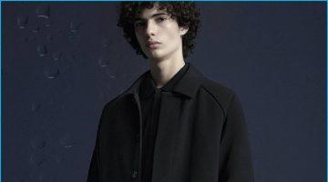 Piero Mendez Fronts DKNY's Moody Fall Campaign