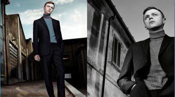 Dane DeHaan Travels to Milan for Prada's Resort Campaign