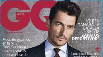 David Gandy Covers GQ México, Dons Classic Fashions