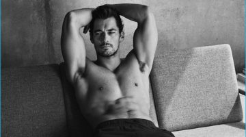 David Gandy Poses in Loungewear for New Autograph Arrivals