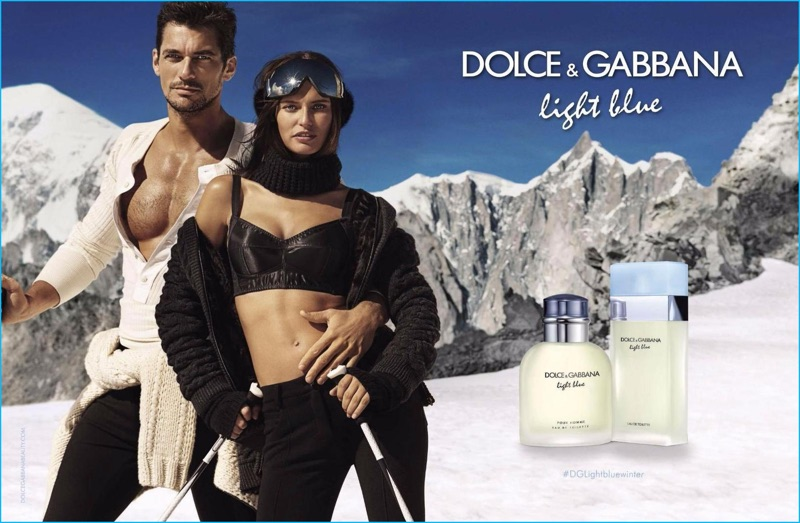 Dolce gabbanas light blue gets into the winter spirit mozeypictures Images