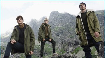 Elle Man Poland Tackles Rugged & Military-Inspired Styles