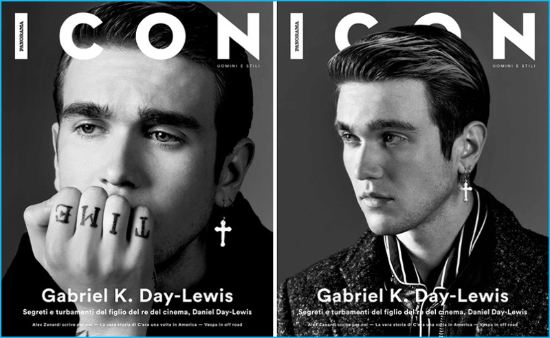Gabriel-Kane Day-Lewis covers the most recent issue of ICON Panorama.