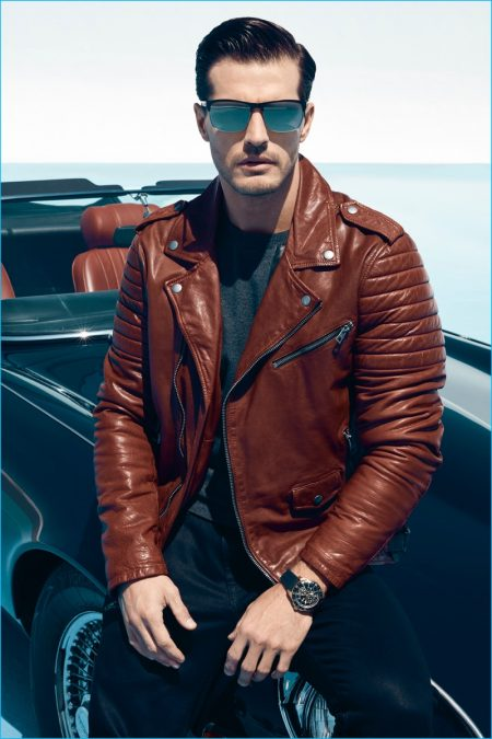 Diego Miguel Fronts GUESS' Fall 2016 Eyewear Campaign