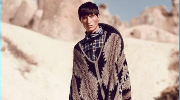 Jester White Goes Western for GQ Turkey Fashion Editorial
