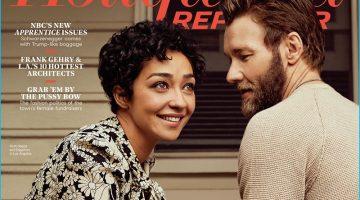 Joel Edgerton & Ruth Negga Cover The Hollywood Reporter, Talk 'Loving'