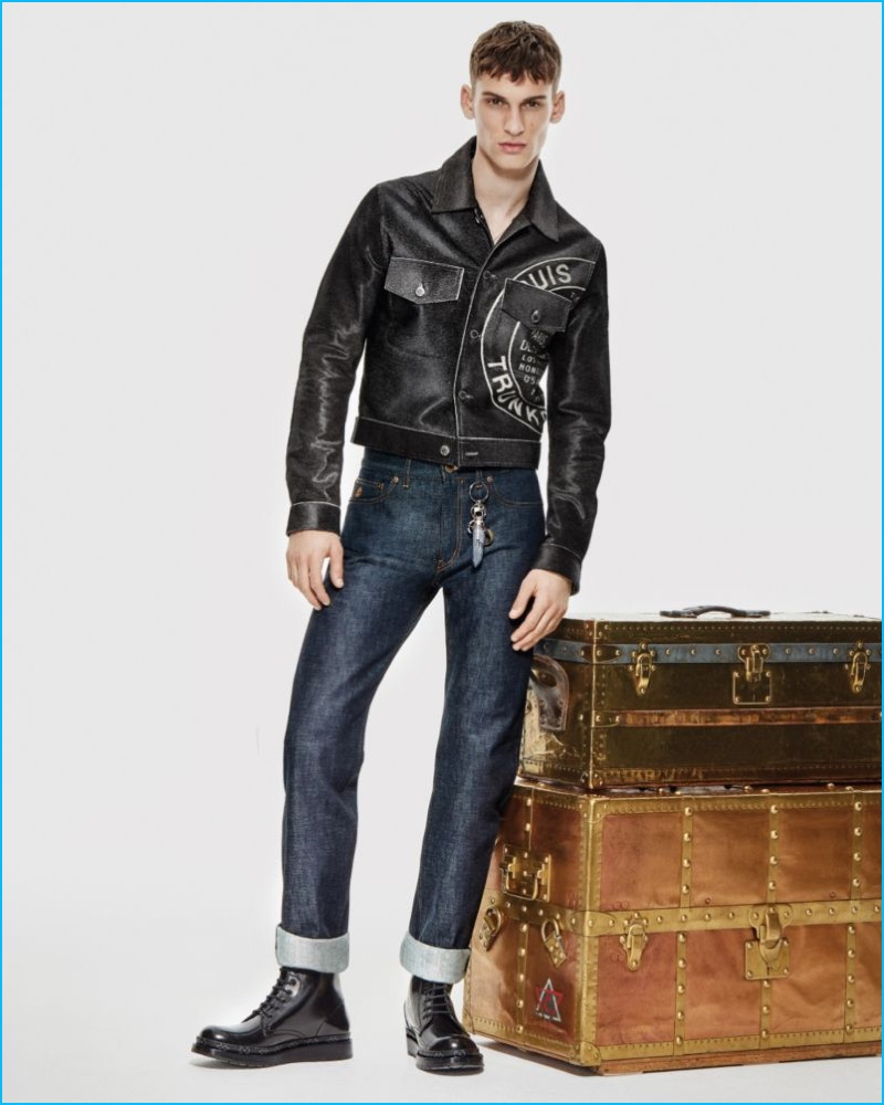 a2559747e1f3 Discover Louis Vuitton s Luxe Stamp on Denim. Published on October 6