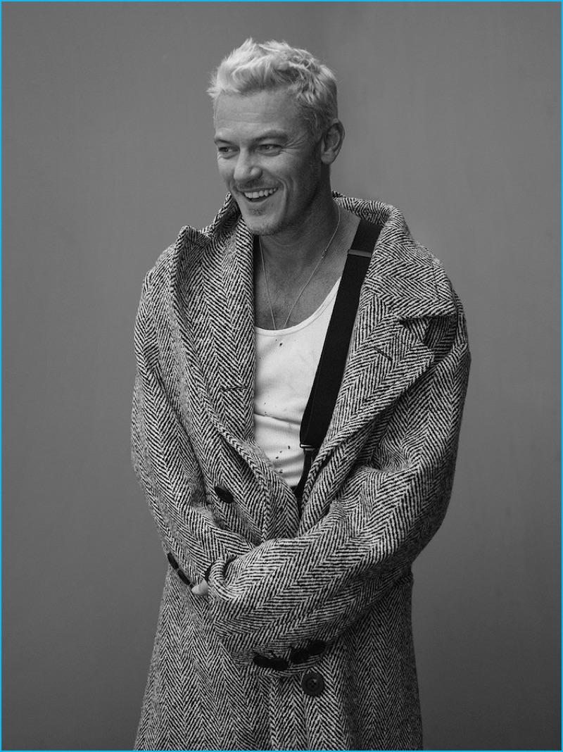 luke evans goes blond for interview shoot talks beauty