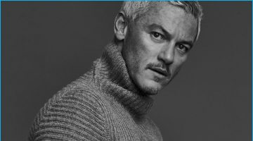 Luke Evans Connects with Mr Porter, Talks Being Single