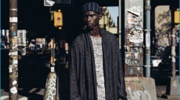 Fernando Cabral Models Must-Have Knitwear from Matches Fashion
