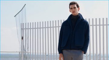 Modern Simplicity: Thibaud Charon Sports Minimal Fall Styles for Matches Fashion