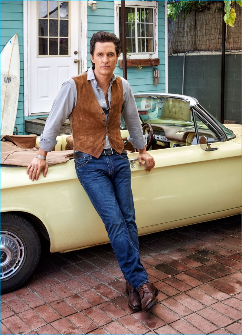 Matthew McConaughey Covers Esquire, Discusses Evolution as Actor