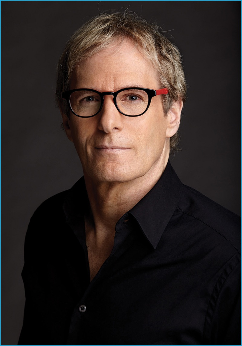 Michael Bolton photographed by Timothy Greenfield-Sanders in Eyebobs' Take a Stand reading glasses.