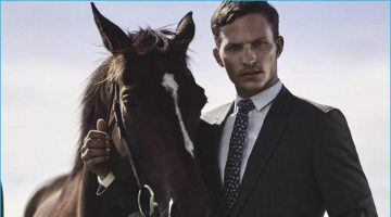 Off to the Races: Nathaniel Visser Suits Up for GQ Australia