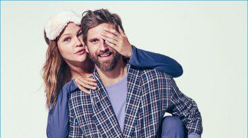 RJ Rogenski Gets Cozy in Sleepwear for Neiman Marcus' Christmas Book