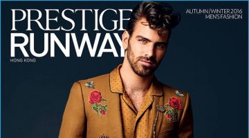 Nyle DiMarco Covers Prestige Runway Hong Kong, Models Fall Looks