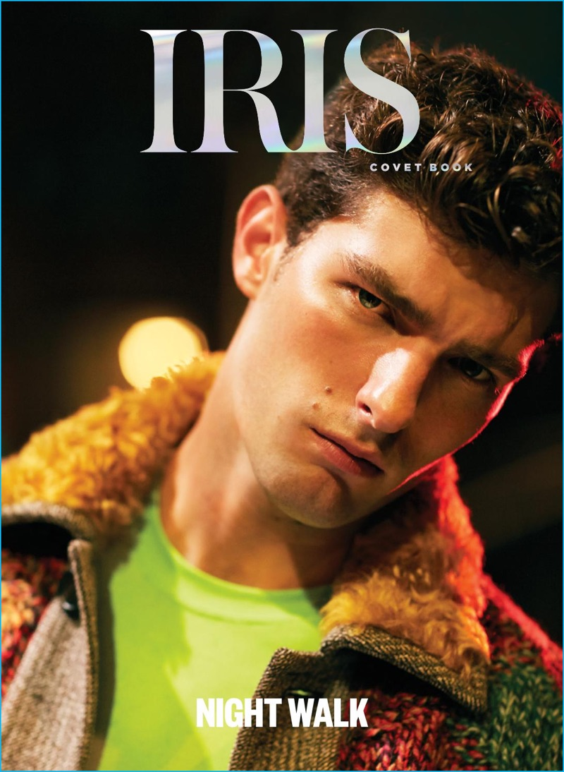 Paolo Anchisi covers the September/October 2016 issue of Iris Covet Book.