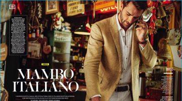 Mambo Italiano: Rafael Lazzini Dons Italian-Inspired Styles for VIP Brasil