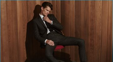 Reiss Embraces Sleek Lines with Its Fall Premium Collection