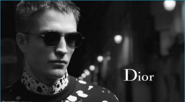 Robert Pattinson Returns for Dior Homme's S/S '17 Campaign