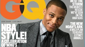 Russell Westbrook Covers GQ, Dishes on Mantra–Why Not?