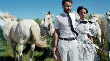 Joel Edgerton Joins 'Loving' Co-Star Ruth Negga for Vogue Spread