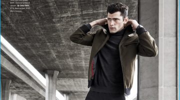 Life is a Highway: Sean O'Pry Rocks Sportswear for Bloomingdale's