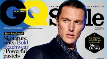 Shaun DeWet is Dashing in Sharp Suits for GQ Style South Africa
