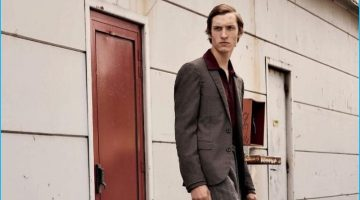 Tim Dibble Goes Skating with L'Officiel Hommes Germany