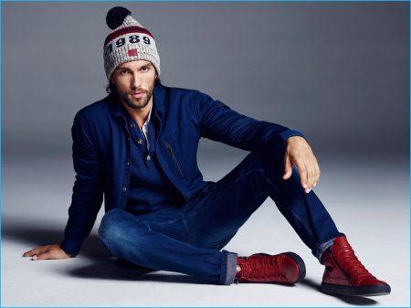 Tobias Sørensen Sports Winter Styles for Reserved