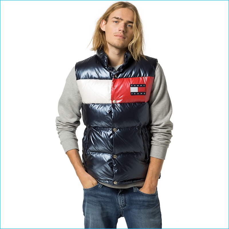Lucky Blue Smith 2016 Tommy Hilfiger Tommy Jeans Fall