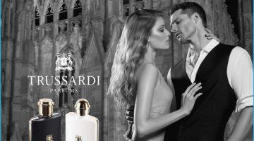 Tomas Skoloudik Stars in Trussardi Uomo Fragrance Campaign