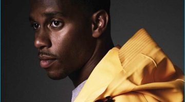 Victor Cruz Sports Moncler O for GQ España Shoot