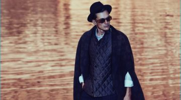 Anthon Wellsjo Goes Dandy in Fall Capes for How to Spend It