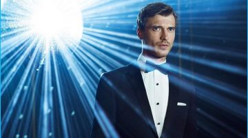 Clément Chabernaud Goes Formal for BOSS' Holiday Campaign