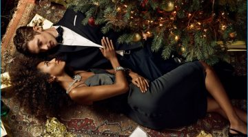 Banana Republic Rings in the Holidays with Mathias Lauridsen + More