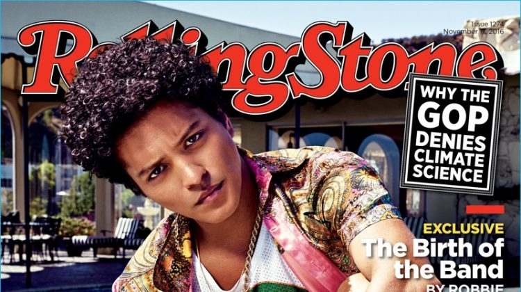 Bruno Mars Covers Rolling Stone, Talks New Music After 'Uptown Funk'