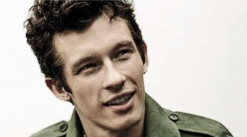 Callum Turner Charms in Burberry for GQ Italia Photo Shoot