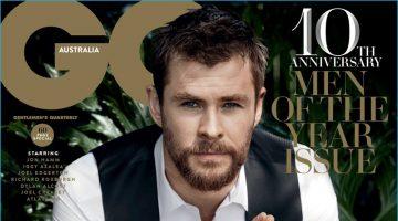Chris Hemsworth is GQ Australia's 2016 Man of the Year