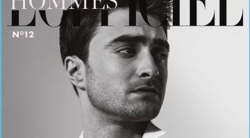 Daniel Radcliffe Embraces Minimal Style for L'Officiel Hommes Netherlands