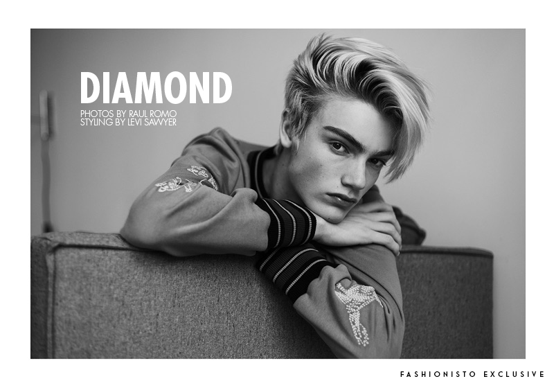Fashionisto Exclusive: Elijah Diamond photographed by Raul Romo